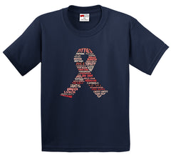 "Breast Cancer Awareness ""Words"" Men's T-Shirt"