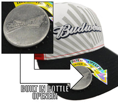 Budweiser Crown Bottle Opener Hat