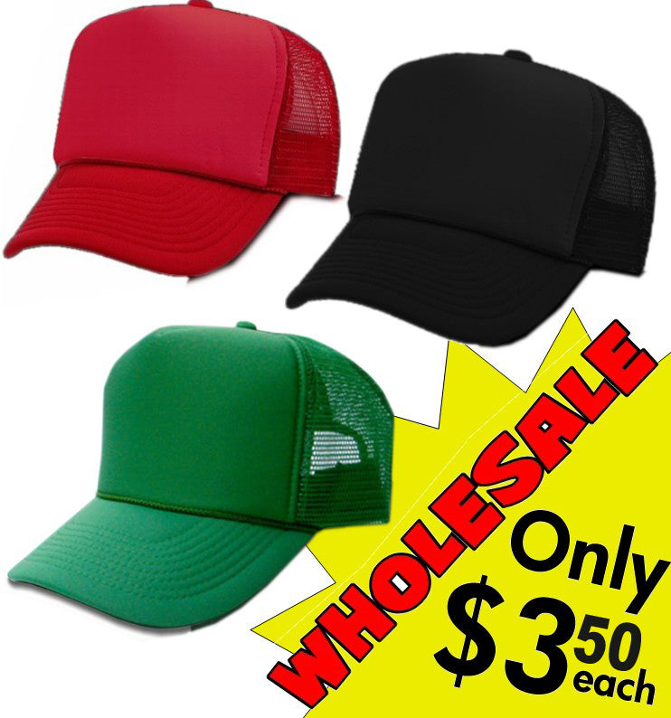 9934e64e3907b Bulk Solid Color Trucker Hats 12 pack Only  3.50 each – Bewild