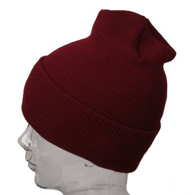 Burgundy Winter Beanie