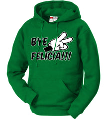Bye Felicia Quote from Friday Adult Hoodie