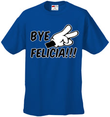 Bye Felicia Quote from Friday Mens T-shirt