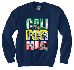 California Roll Lick Smoke Crewneck Sweatshirt