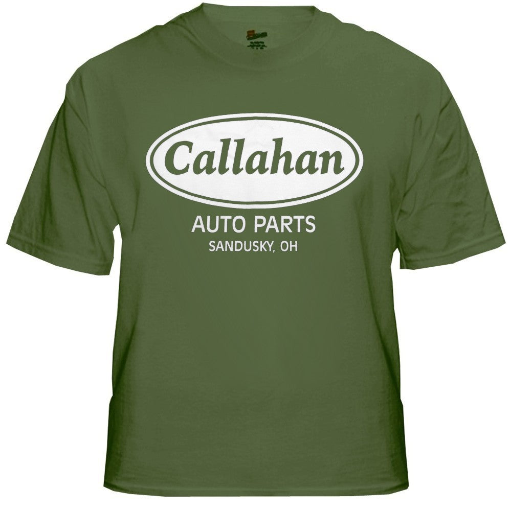 Callahan Auto Parts T-Shirt - From the Chris Farley Movie Tommy Boy
