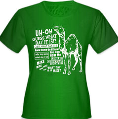 Camel Hump Day Guess What Girl's T-Shirt