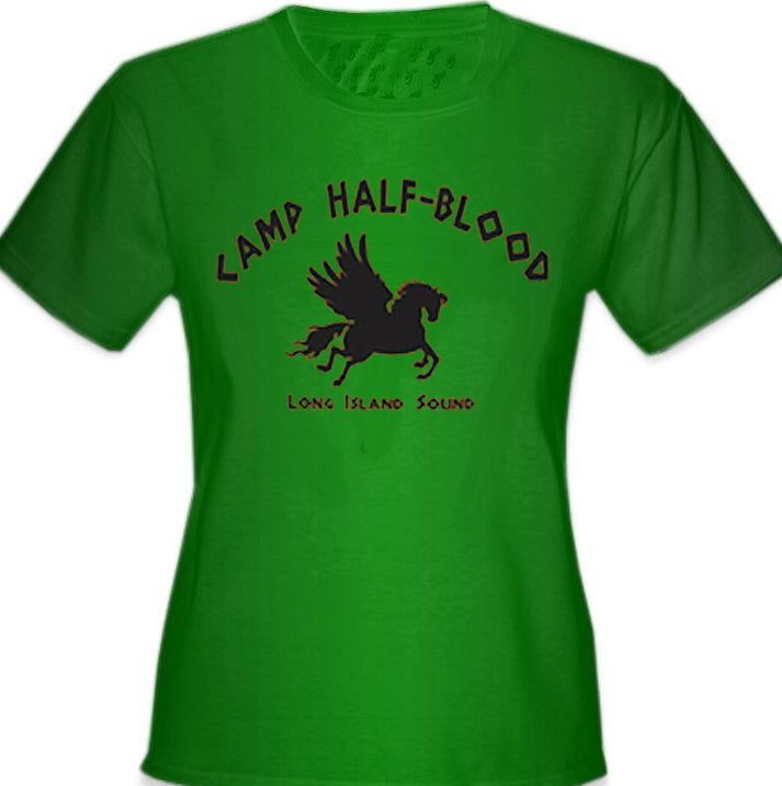 Camp Half Blood Long Island Sound Girl's T-Shirt