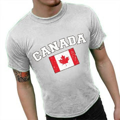 Canada Vintage Flag International Mens T-Shirt