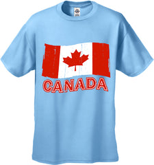 Canada Vintage Flag Men's T-Shirt