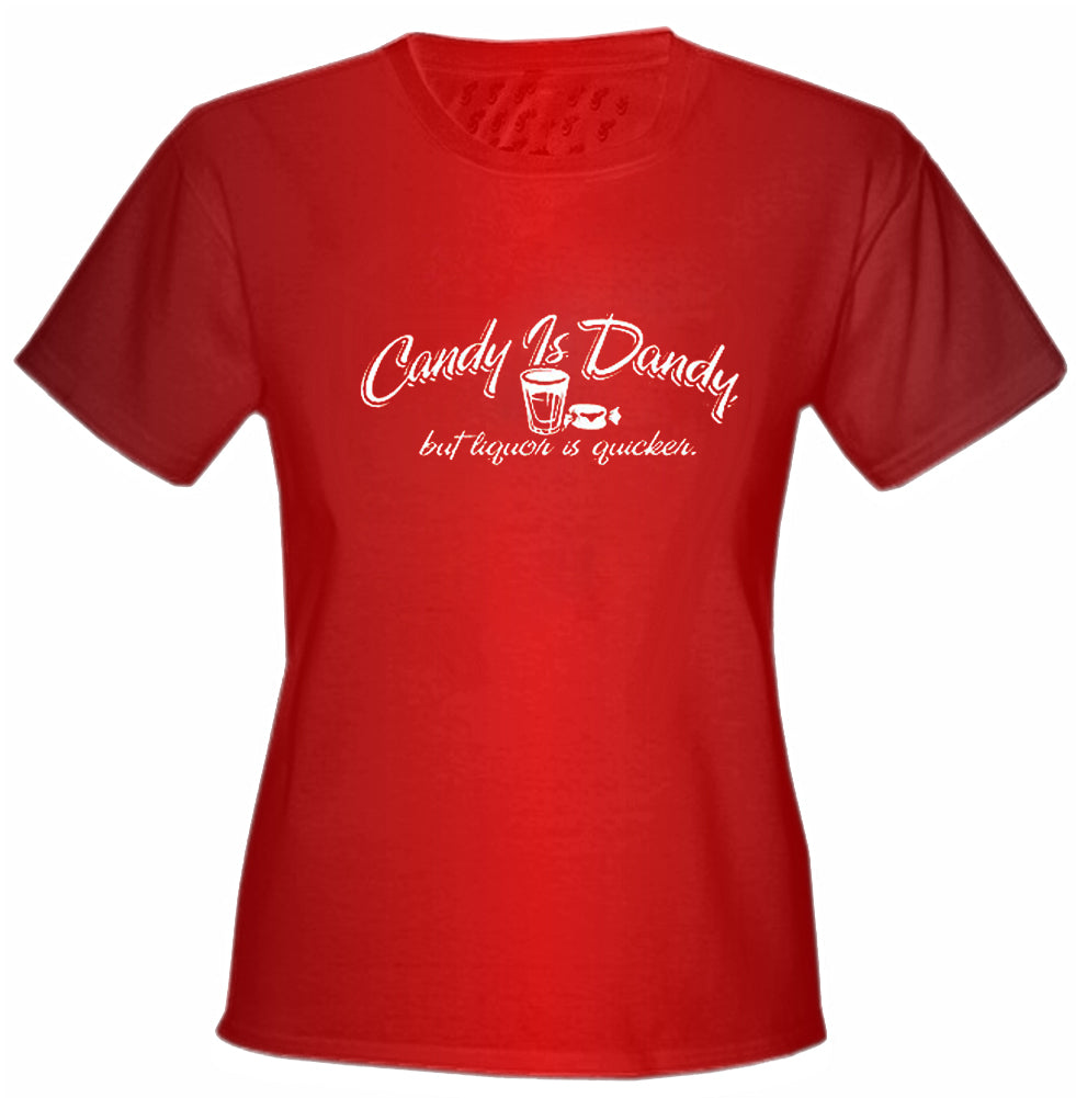 Candy Is Dandy Girls T-Shirt