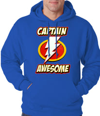 Captain Awesome Adult Hoodie