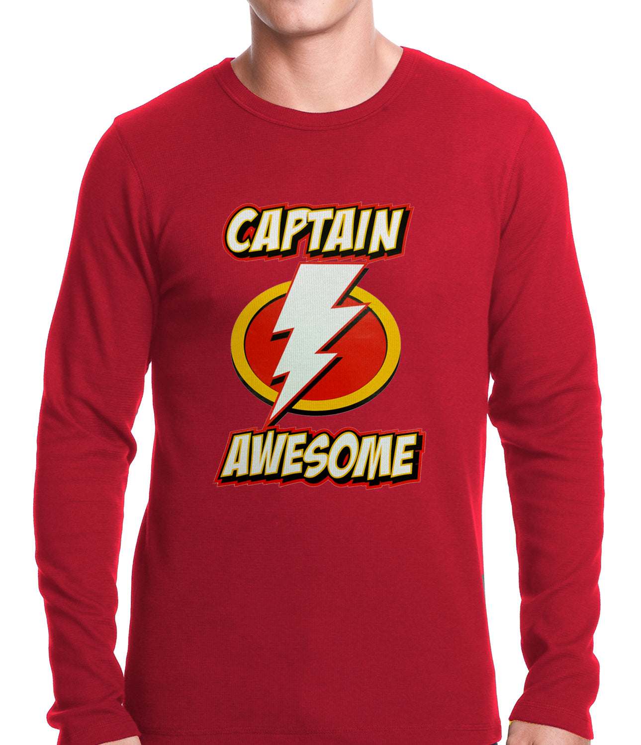 Captain Awesome Thermal Shirt
