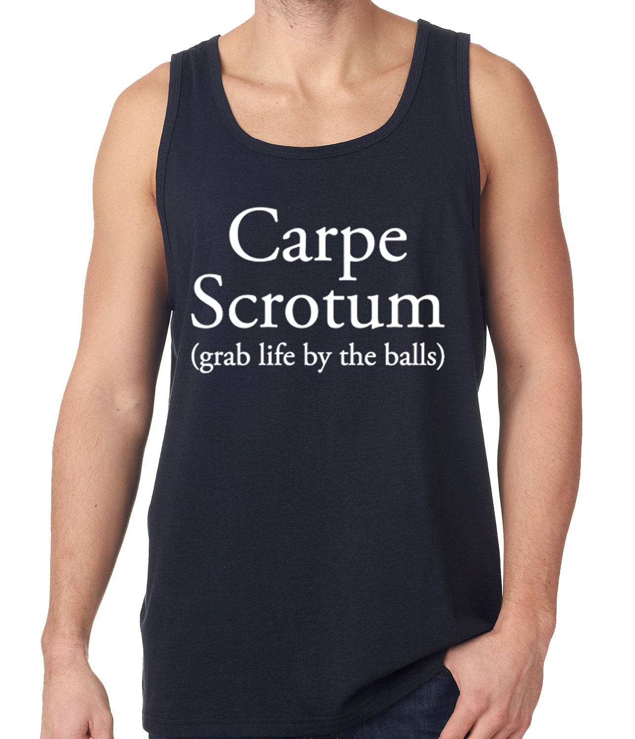 Carpe Scrotum - Grab Life By The Balls Tanktop