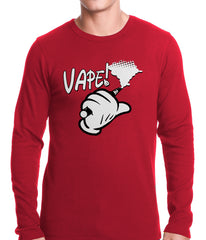 Cartoon Hand Vape Thermal Shirt