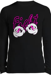 Breast Cancer Thermal Long Sleeve Shirt