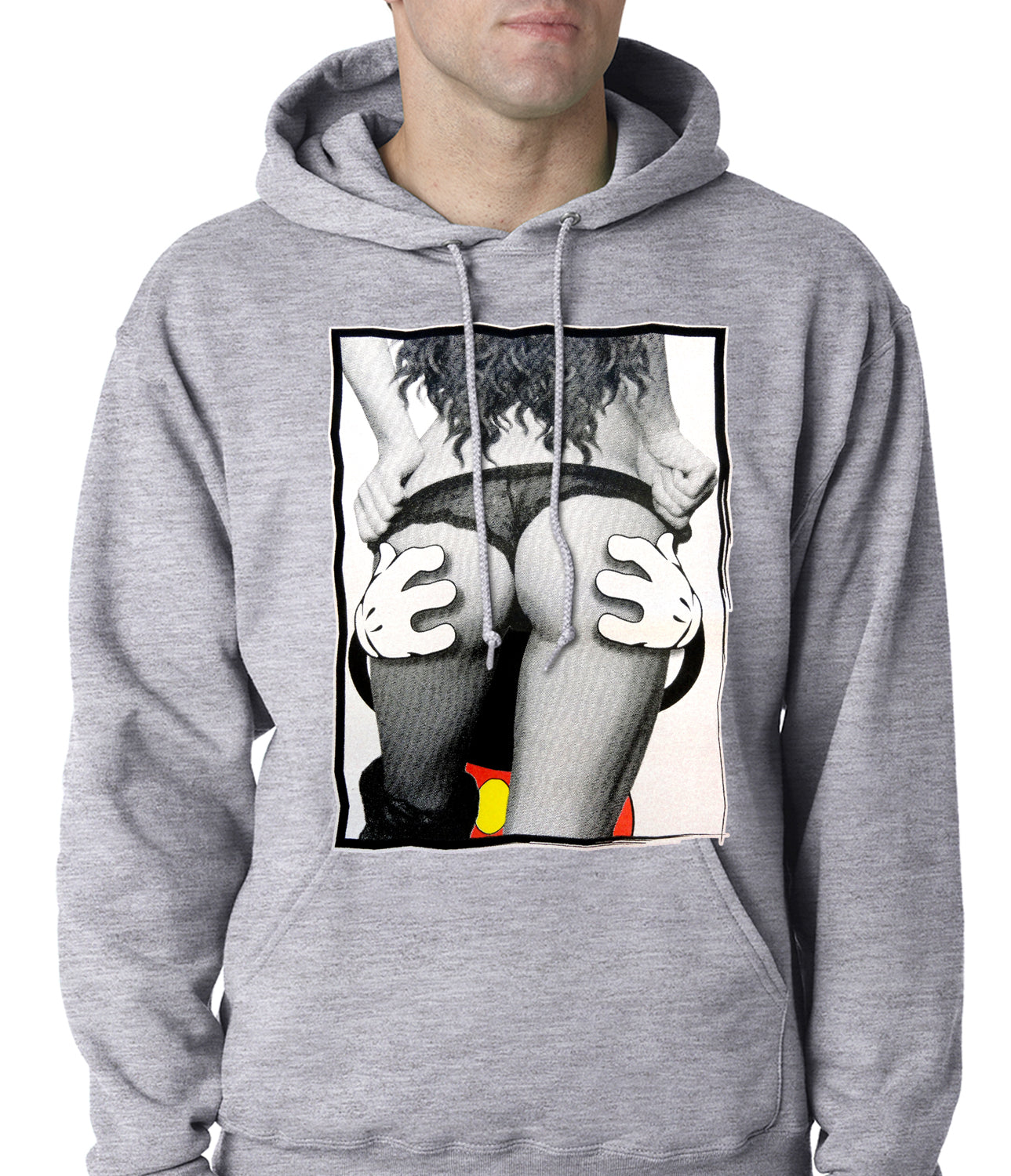 Cartoon Hands Getting a Feel Butt Hoodie