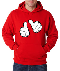 Cartoon Hands This Guy Adult Hoodie
