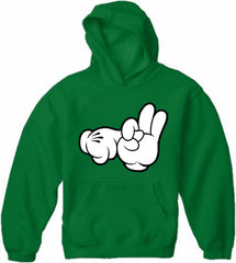 Cartoon Sex Hands Adult Hoodie