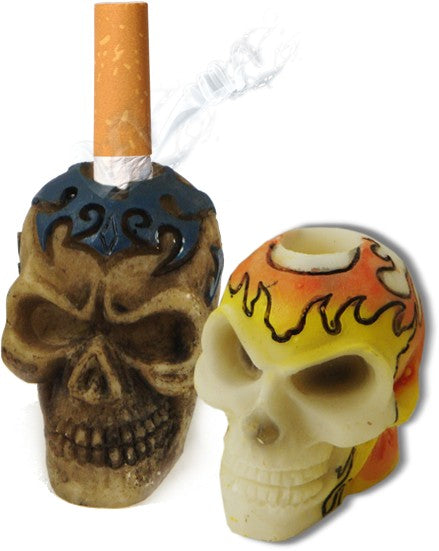 Catacomb Skulls Cigarette Snuffers