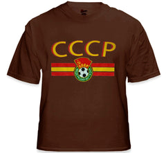 CCCP USSR Soviet Union Vintage Shield International Mens T-Shirt