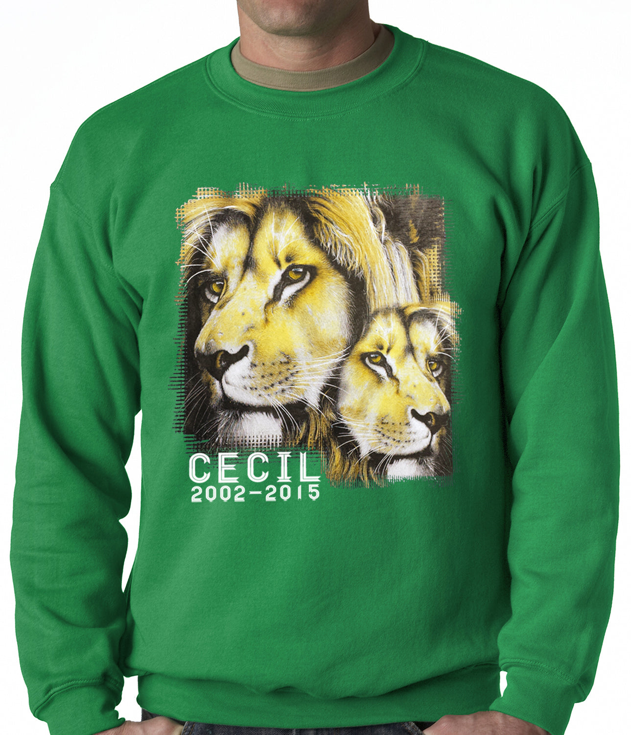 Cecil The Lion Tribute Shirt Adult Crewneck