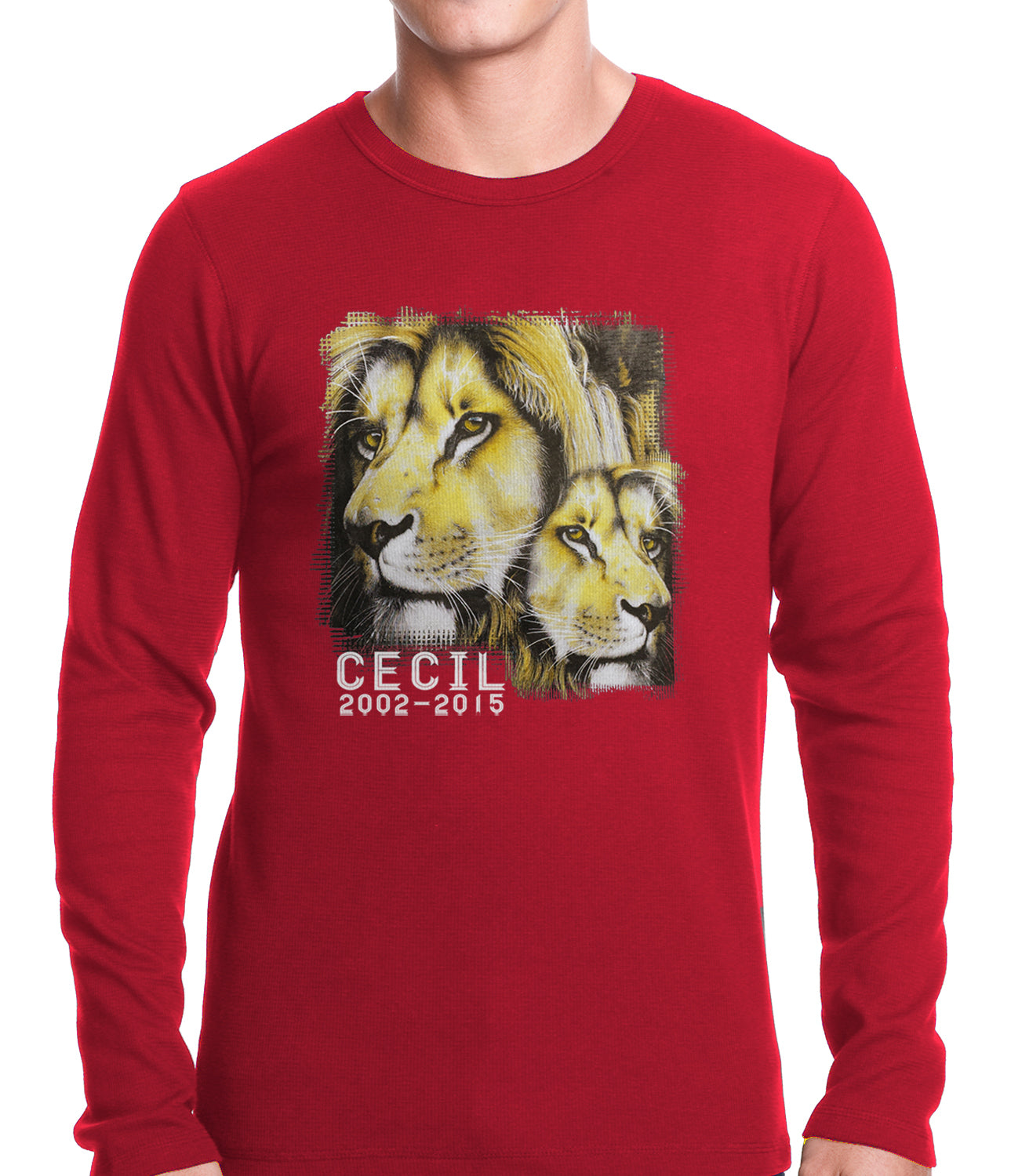 Cecil The Lion Tribute Shirt Thermal Shirt