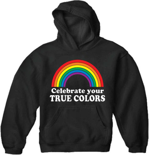 Celebrate Your True Colors Adult Hoodie