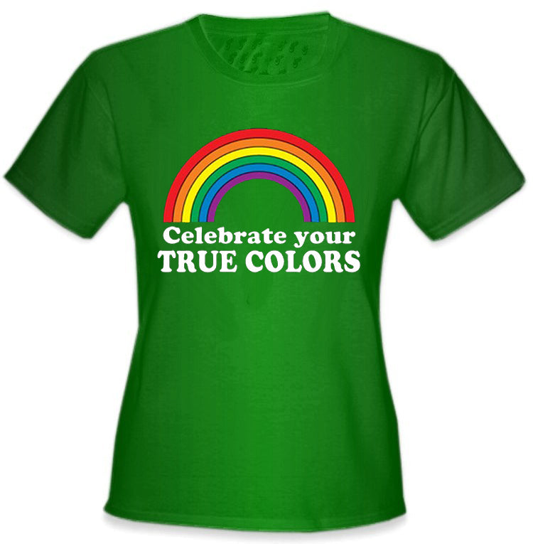 Celebrate Your True Colors Girl's T-Shirt
