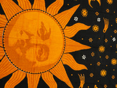 Sun Face Tapestry
