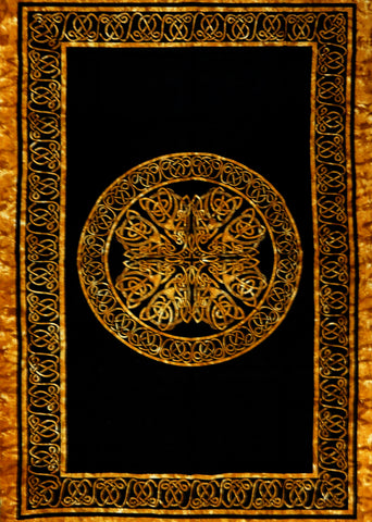 Celtic Knots Tapestry (Brown)