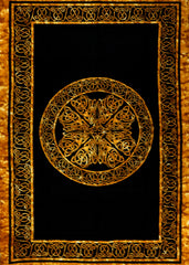 Celtic Knots Tapestry Brown