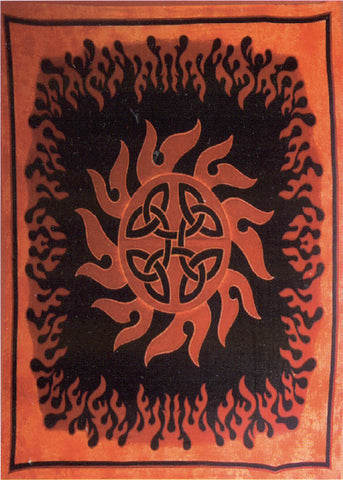 Celtic Sun Tapestry