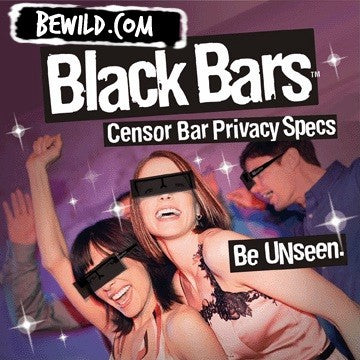Censored! Black Bar Sunglasses