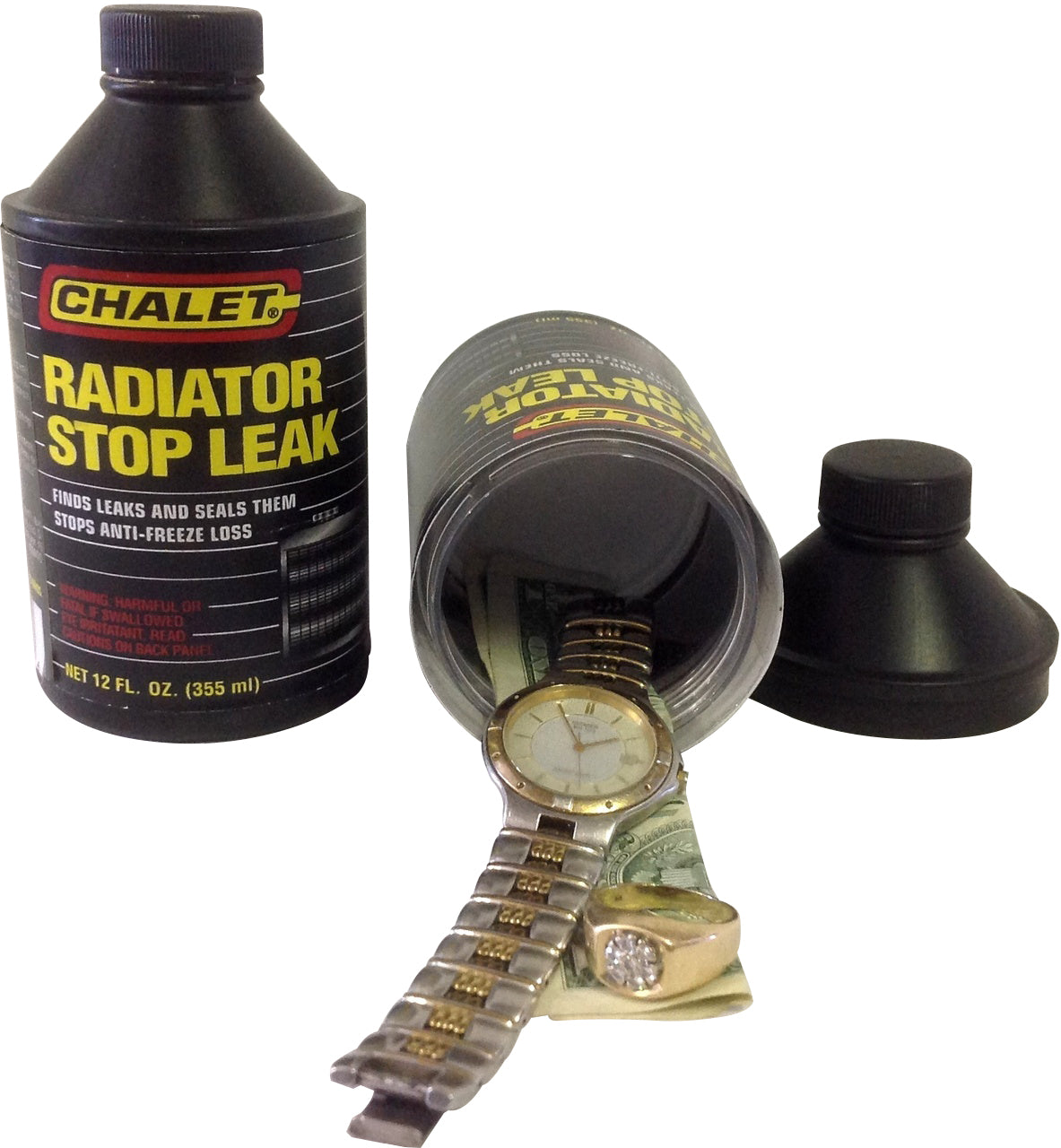 Chalet Radiator Stop Leak Diversion Safe