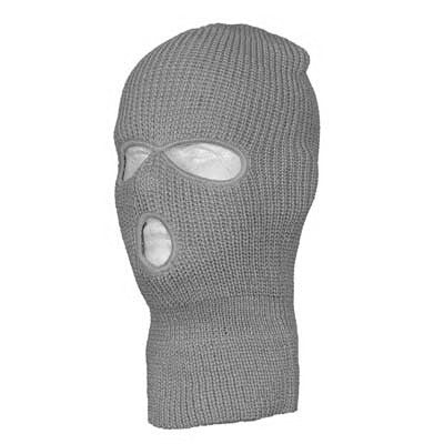 Charcoal Grey Winter Ski and Face Mask