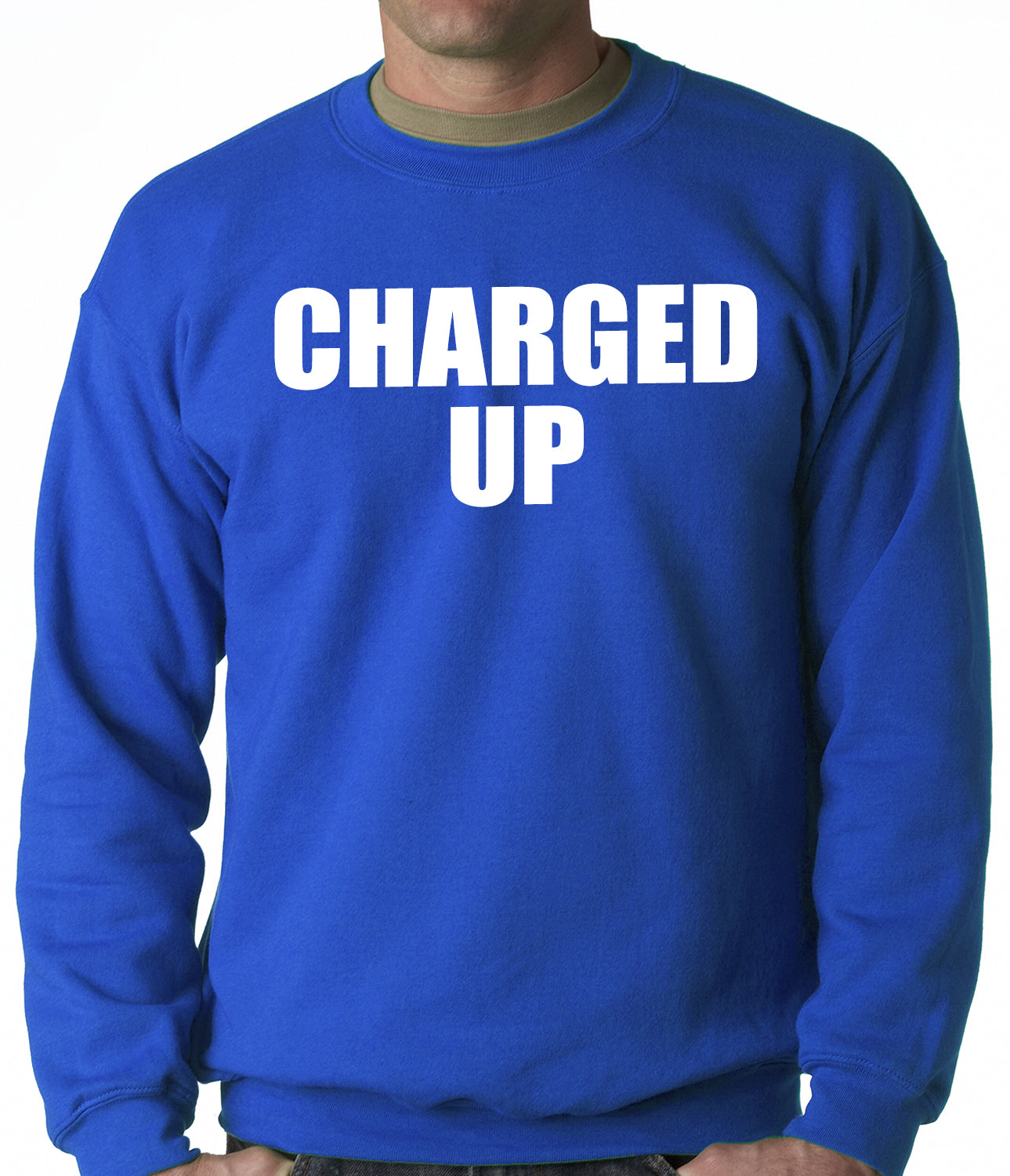 Charged Up Hip Hop Meek Diss Adult Crewneck