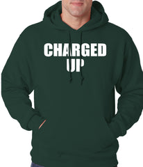 Charged Up Hip Hop Meek Diss Adult Hoodie