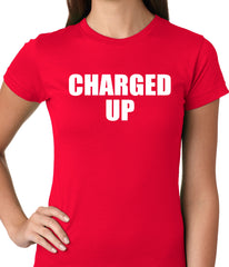 Charged Up Hip Hop Meek Diss Ladies T-shirt