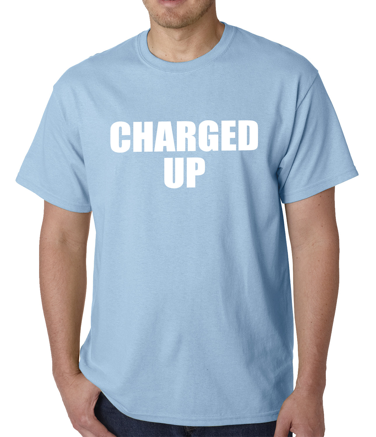 Charged Up Hip Hop Meek Diss Mens T-shirt