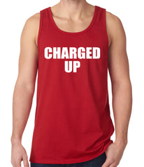 Charged Up Hip Hop Meek Diss Tank Top