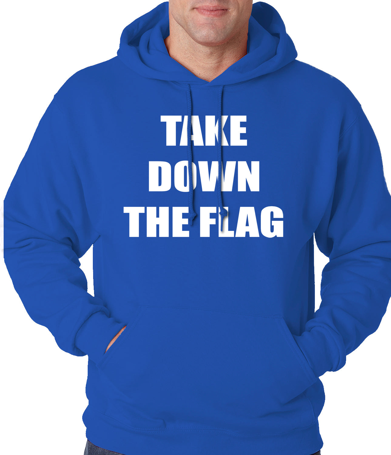Charleston South Carolina Take Down The Flag Protest  Adult Hoodie