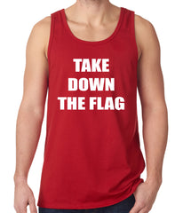 Charleston South Carolina Take Down The Flag Protest Tank Top