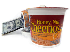 Honey Nut Cheerios Cereal Diversion Safe