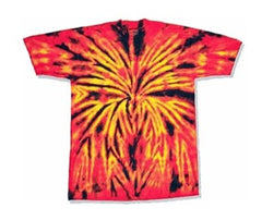 Childrens Inferno Tie Die T-Shirt