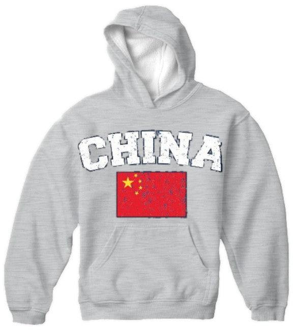 China Vintage Flag International Hoodie