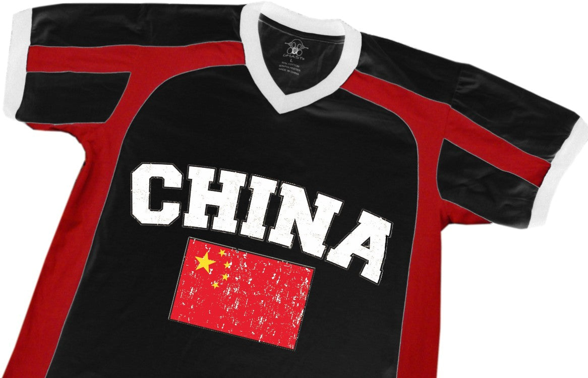 China Vintage Flag International Sport Tee
