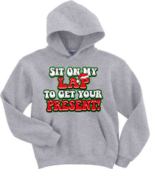 Christmas Hoodies - Sit On My Lap Men's Hoodie