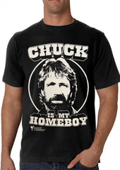 Chuck Norris Is My Homeboy T-Shirt