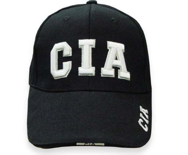 CIA Baseball Hat (Black)