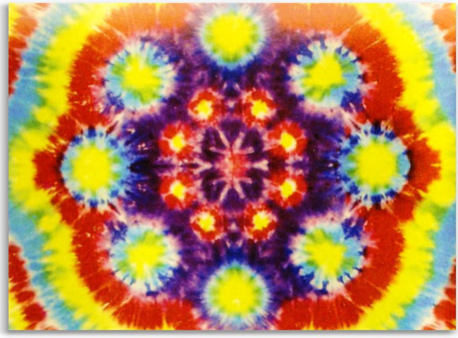 Circle Spiral Tie Dye Wall Hang Tapestry