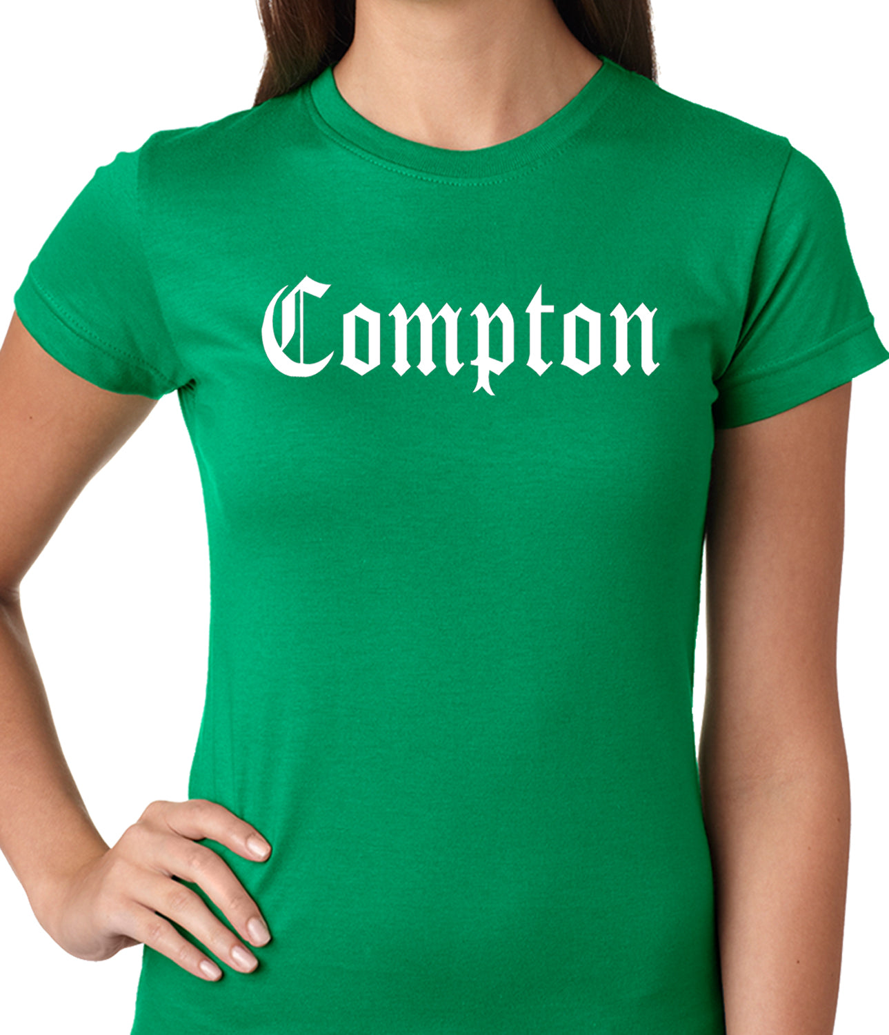 City Of Compton, California Ladies T-shirt